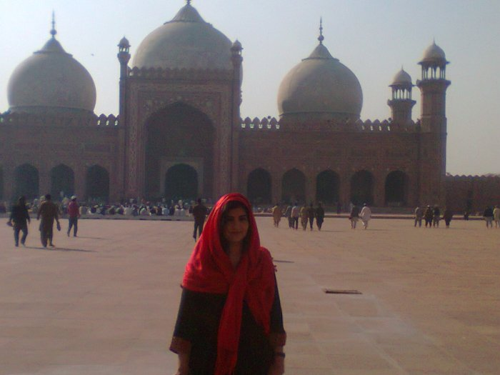 At Badshahi Mosque